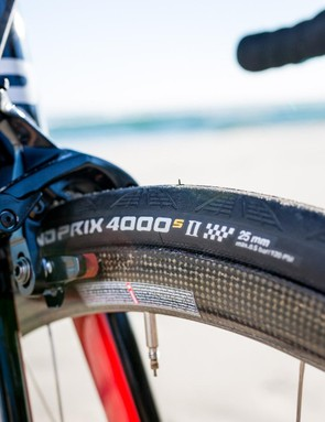 Continental Grand Prix 4000 IIs are among my favourite road tyres for their rolling resistance and toughness