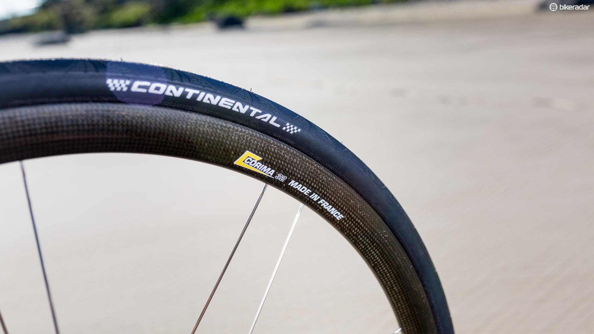 The Corima Carbon 32 is a beautiful, lightweight wheelset