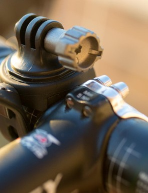 Like most similar bar mounts the light creeps forward as you ride, exacerbated by bumpy roads