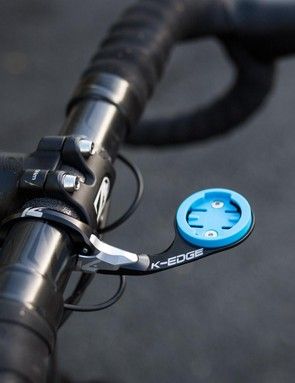 K-Edge's new Race mount weighs 32g and is available for Garmin Edge and Wahoo computers