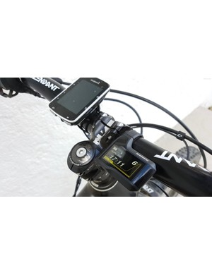 The Shimano display is easy to read and super intuitive to use