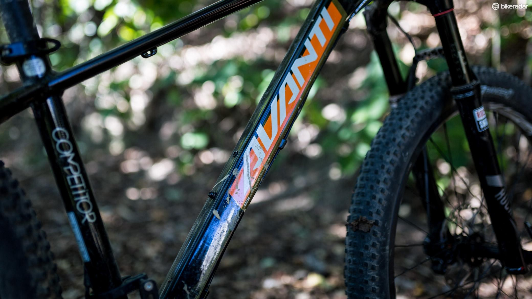 We're big fans of the retro orange and black paint job, especially when it's splattered in mud