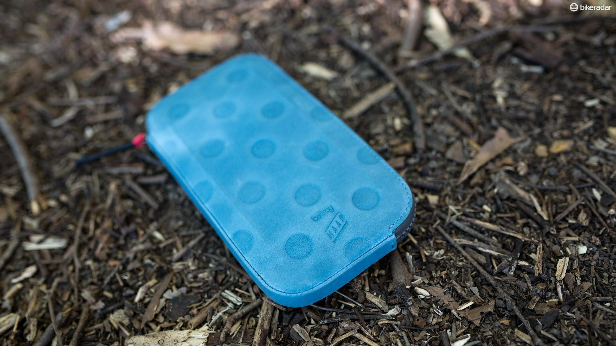 Maap has released its All Conditions Phone Pouch in a new colour and size