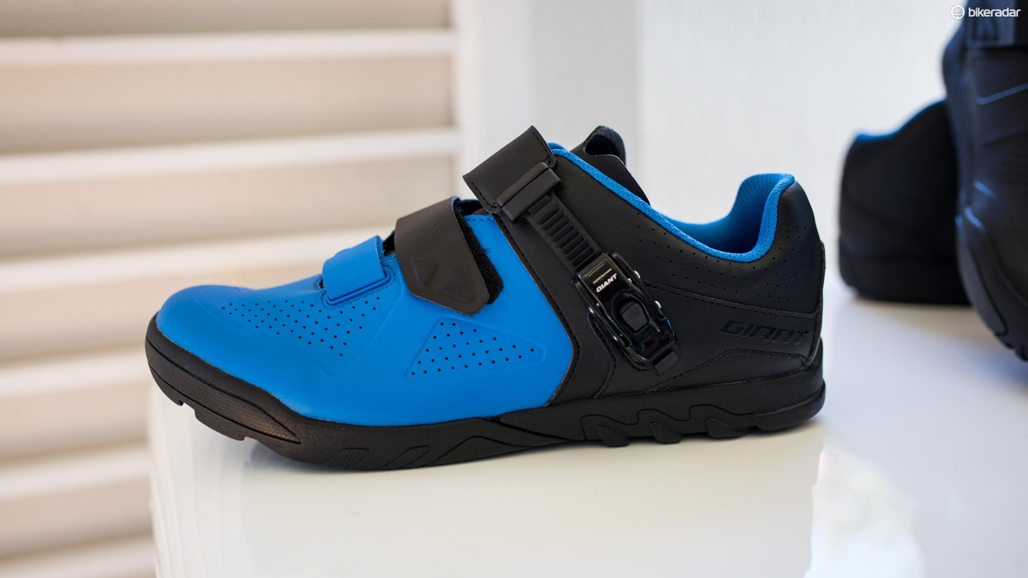 Giant's new Line Trail shoe is made from a hydrophobic upper