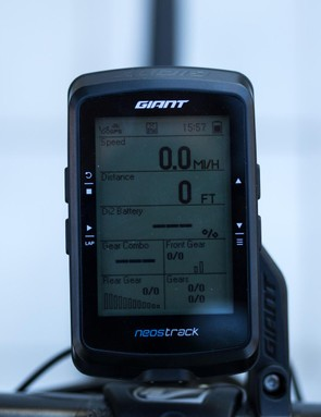 The computer has metrics for everything and can even connect to your Di2 drivetrain