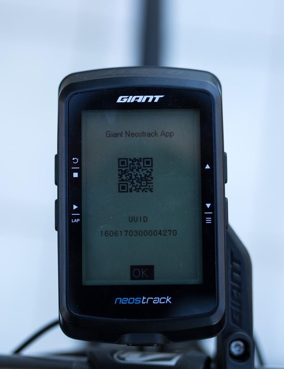 To set up the W-LAN sync with your phone the computer utilises a QR code