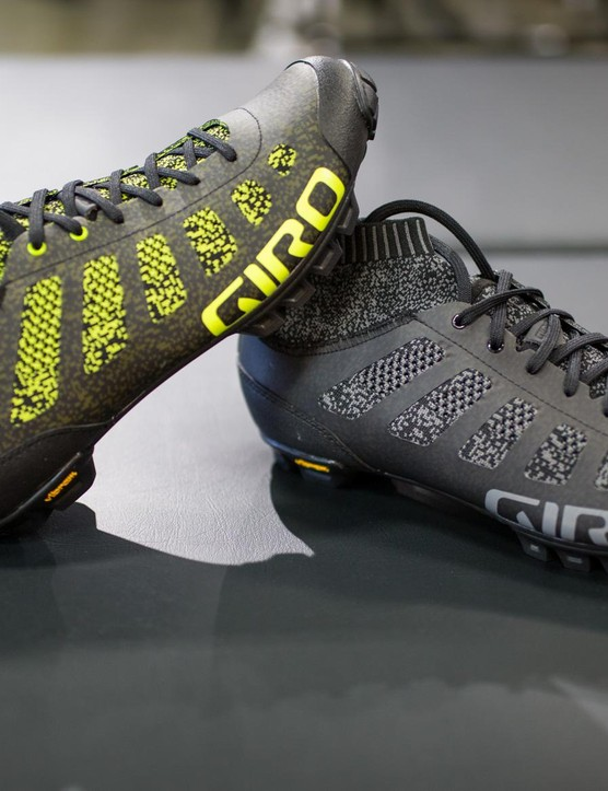 The Empire VR70 Knit is a reinforced version for 'cross and MTB