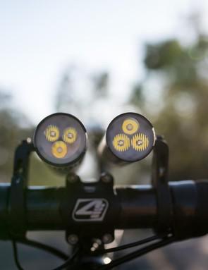 The Modular lights see three LEDs
