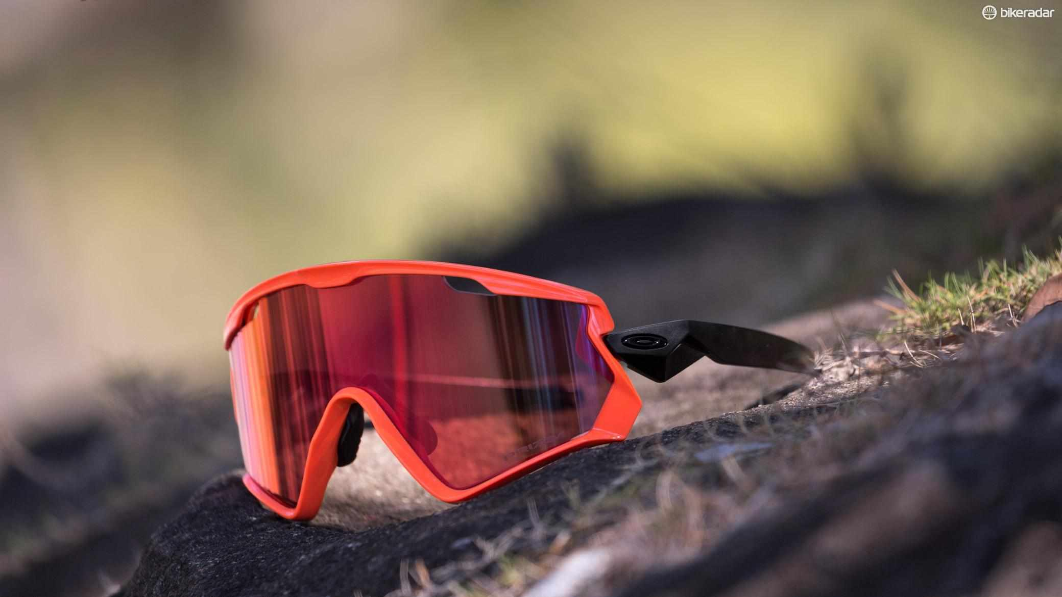 Oakley's Windjacket 2.0s are based on the brand's classic Eyeshade sunnies