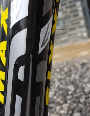 Wider rims offer extra support to tyres