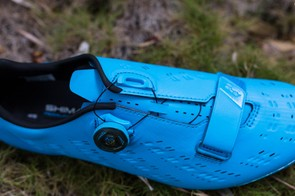 Shimano has ditched a ratchet and Velcro strap for a BOA dial