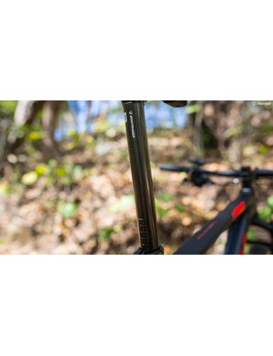 The Procaliber gets a carbon seatpost