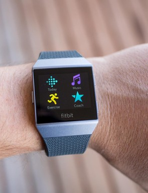 The Ionic is the first Fitbit to support apps