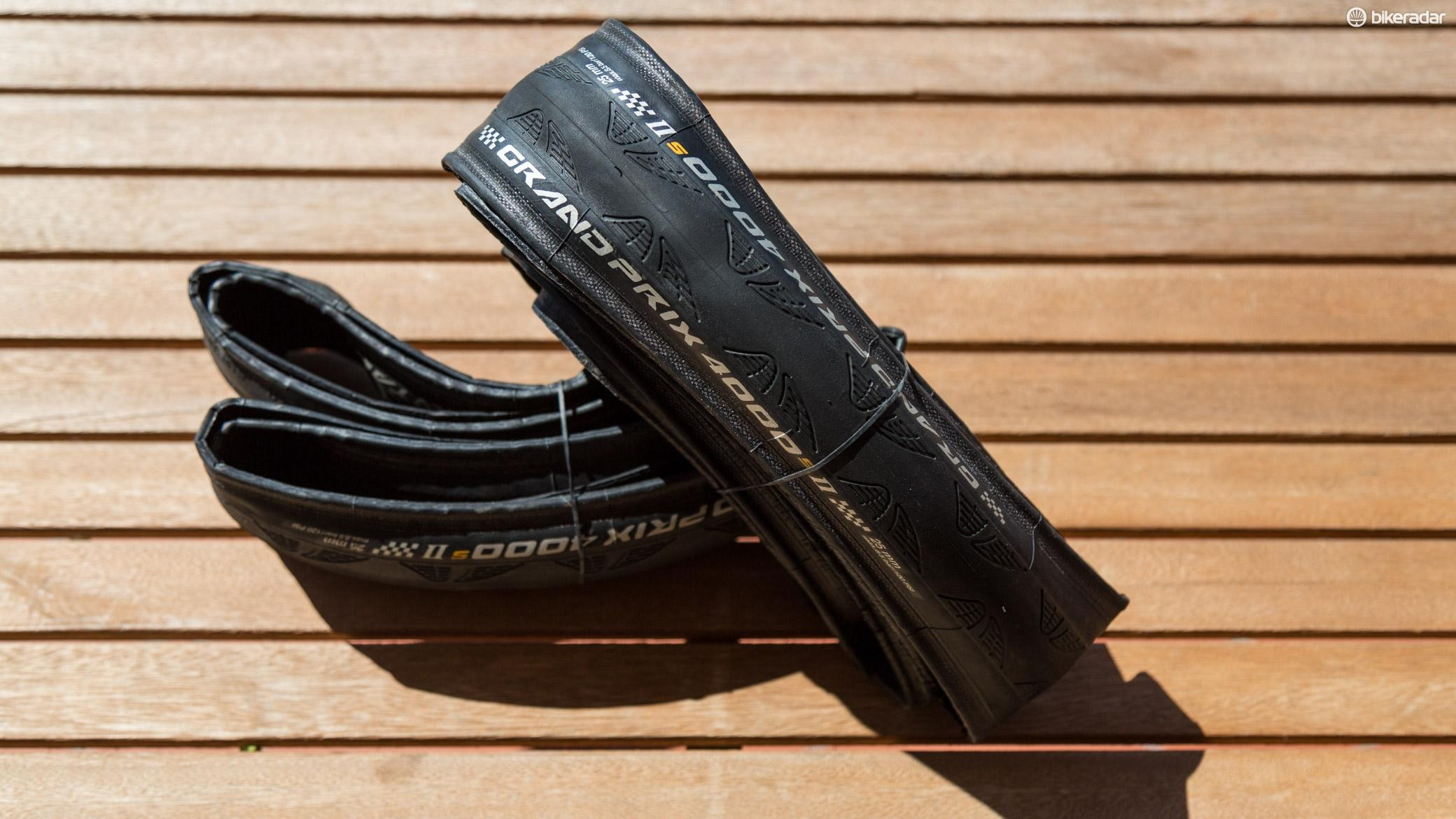 Conti's GP 4000 S II are tough and fast rolling