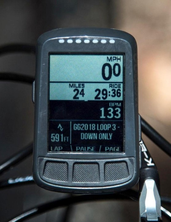 Wahoo's Elemnt has the best user interface of any bike computer I've ever used