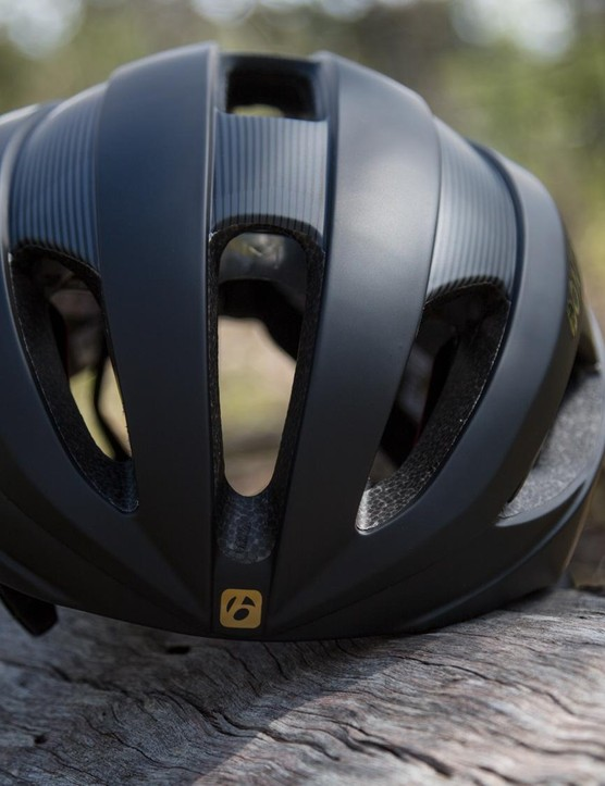 Bontrager has opted for the quality over quantity venting system