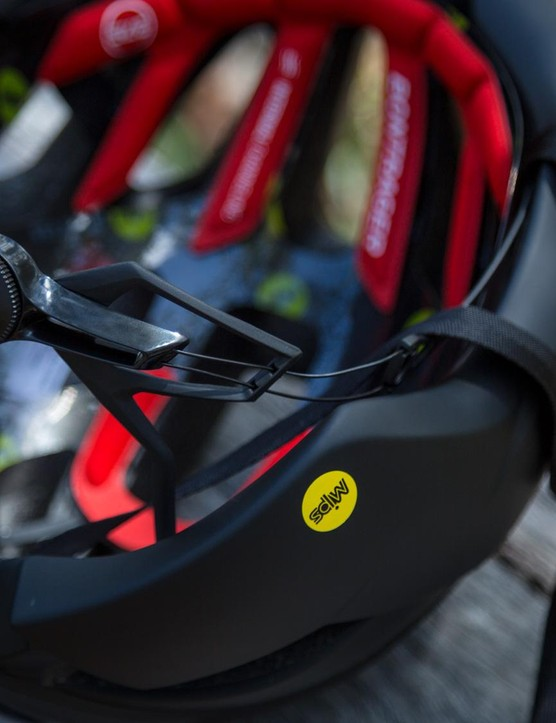 Bontrager has used a new Boa-based retention system