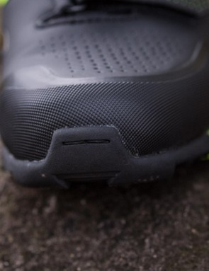 The toe protectors have fared well in the face of plenty of abuse