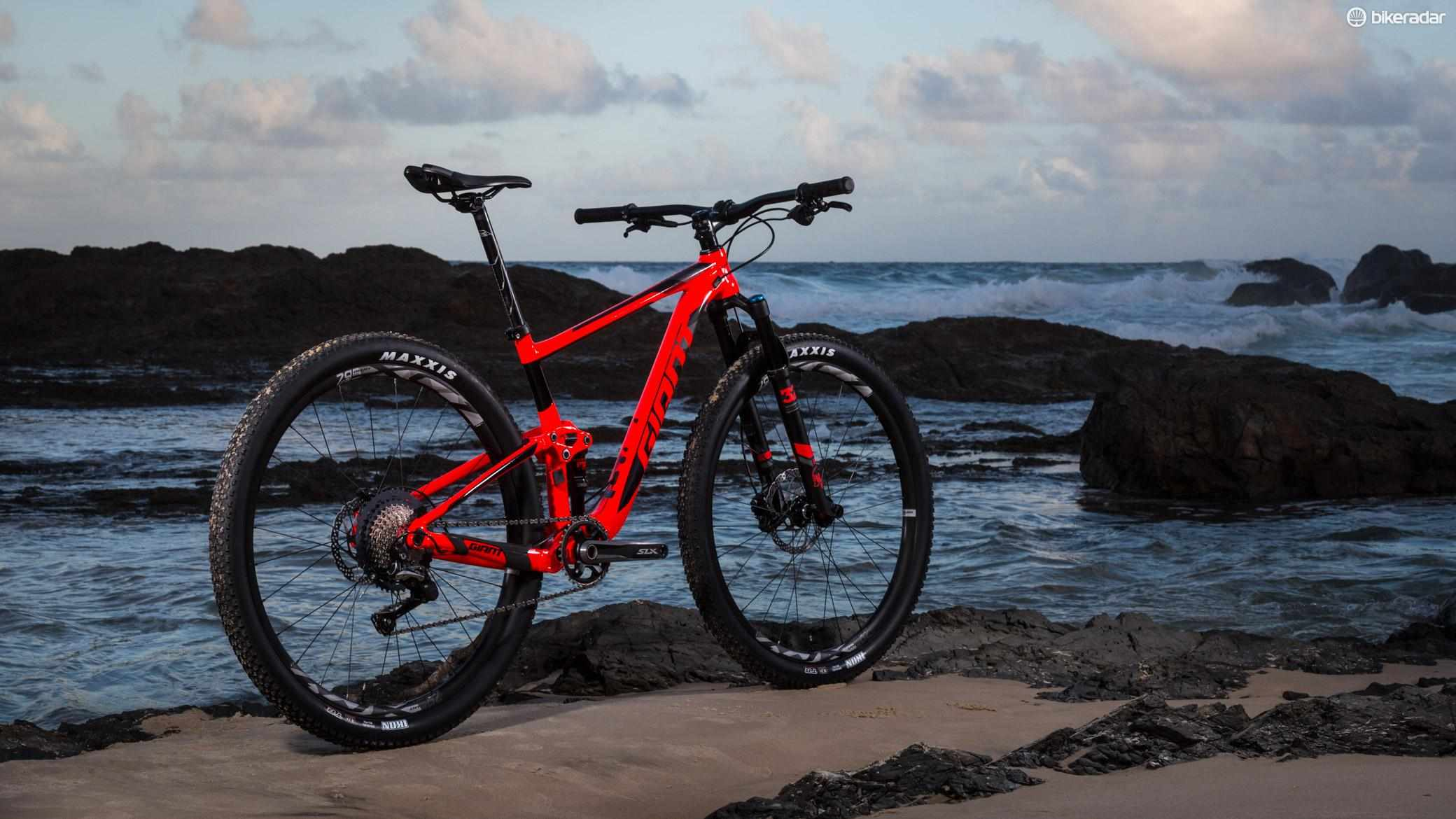 Giant's Anthem 29er 2 is flame orange