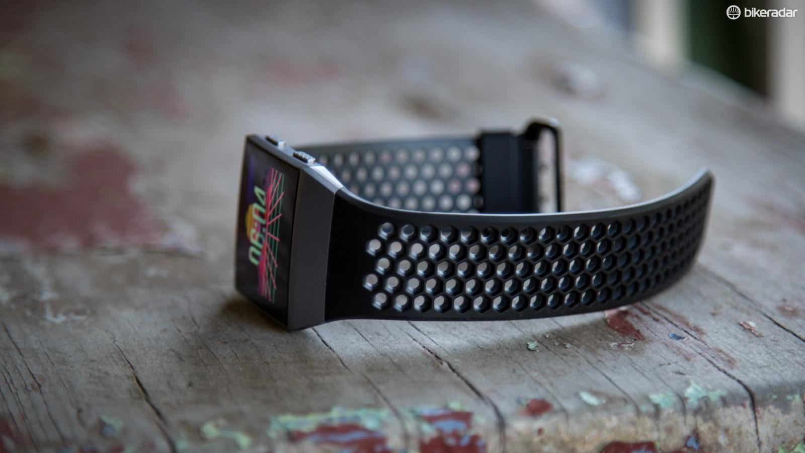 The sport band is a massive improvement over the standard band