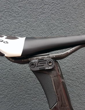 The bike features an S-Flex seatpost design to help absorb shocks and improve comfort