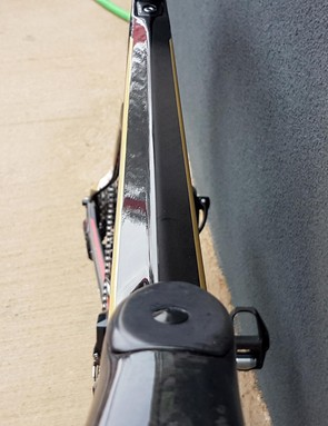 Aerodynamic profiling of the tubing features throughout the bike