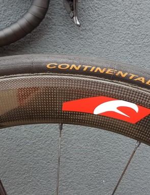 Continental Competition tubular tyres are the most popular in the WorldTour peloton
