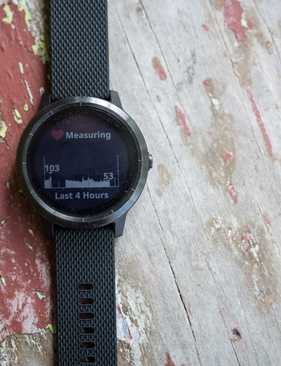 Like most activity trackers it monitors 24-hour heart rate