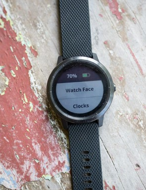 The menu structure will be familiar for those who've used Garmin devices