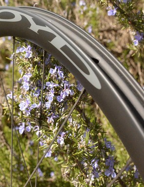 Boyd's carbon 36 Road Disc wheels are 36mm tall, 22mm wide and disc-brake only