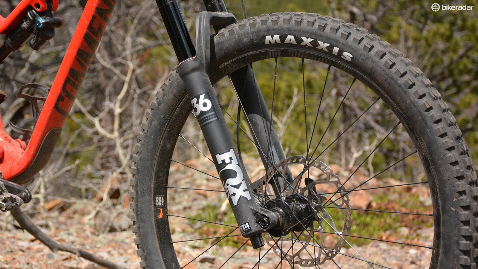 Even with the less expensive Performance internals, the Fox 36 is a very, very good fork