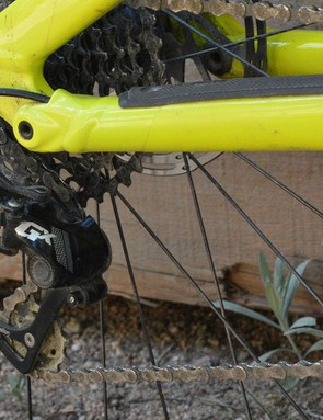 SRAM's 11-speed GX drivetrain took care of each shift with zero complaints