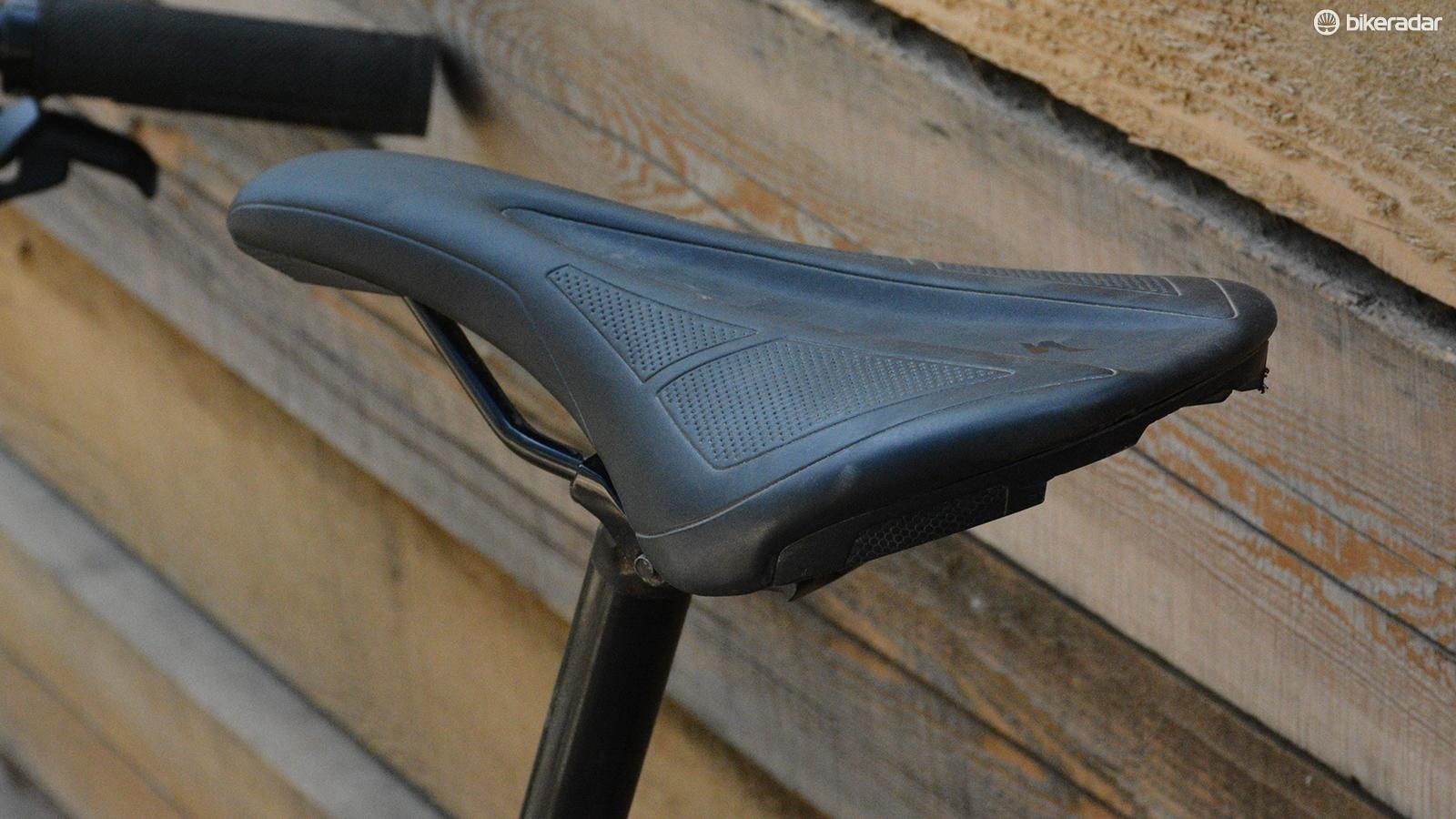 Specialized makes some of the best saddles. The Henge Comp is one I'd happily ride on other bikes