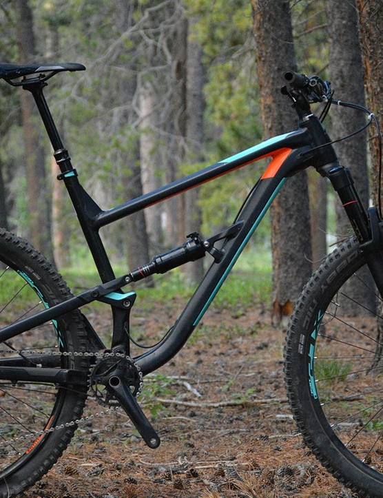 Polygon's Siskiu T8 would make a fine upgrade for a rider getting on their first full-suspension rig