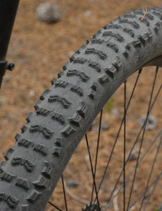 I'm not a fan of Continental Trail King tires and their plasticky feel