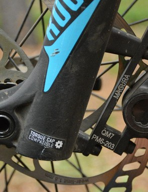 German brakes on a German bike, Magura MT2 discs are on board