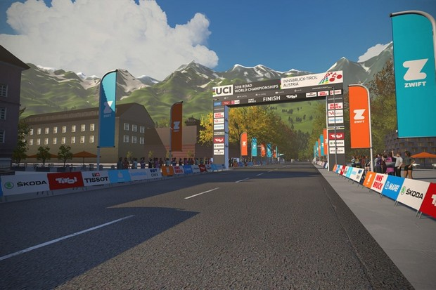 Get ready to ride the 2018 Innsbruck UCI Road World Champion