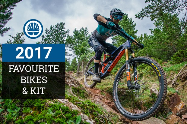 BikeRadar staff present the bikes and bits they enjoyed most this year