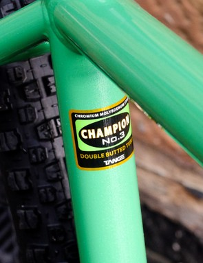 The frame uses Tange Champion tubing