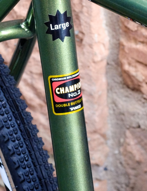 Tange Champion tubing is used throughout the line