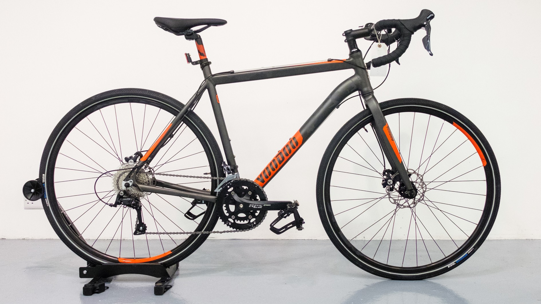 Gravel bikes, such as this £550 Voodoo Nakisi, are getting ever more affordable