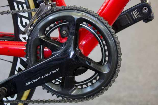 Quite a few teams including Trek-Segafredo are using Shimano's power meter