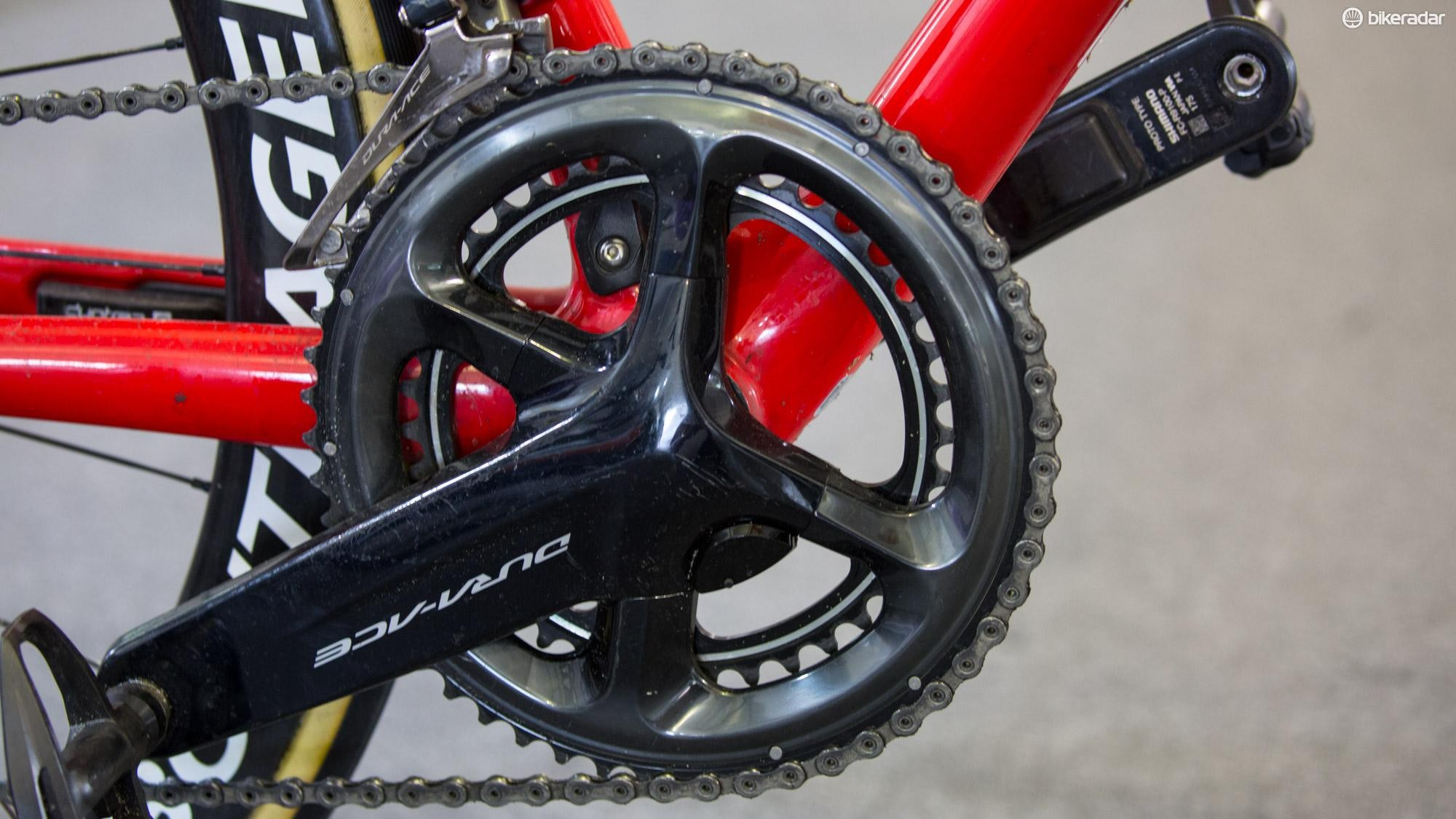 Late last month Shimano told BikeRadar it would be providing power meters to to Team Sky