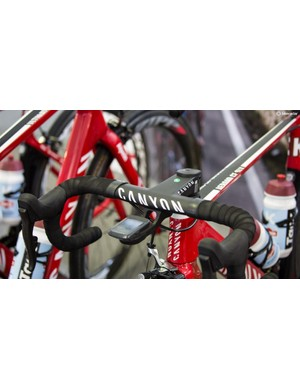 Katusha announced last week they'd be using Wahoo Elemnt Bolt computers