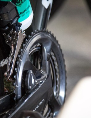 Bora-Hansgrohe appear to be riding Specialized power meters ahead of the Tour Down Under