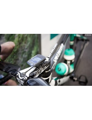 Bora-Hansgrohe is also riding with Wahoo Elemnt Bolts for 2018