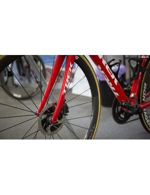 Trek will be riding only the disc brake version of the Emonda for 2018