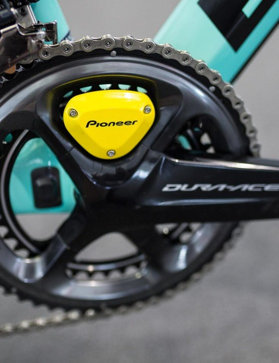 Pioneer and Shimano