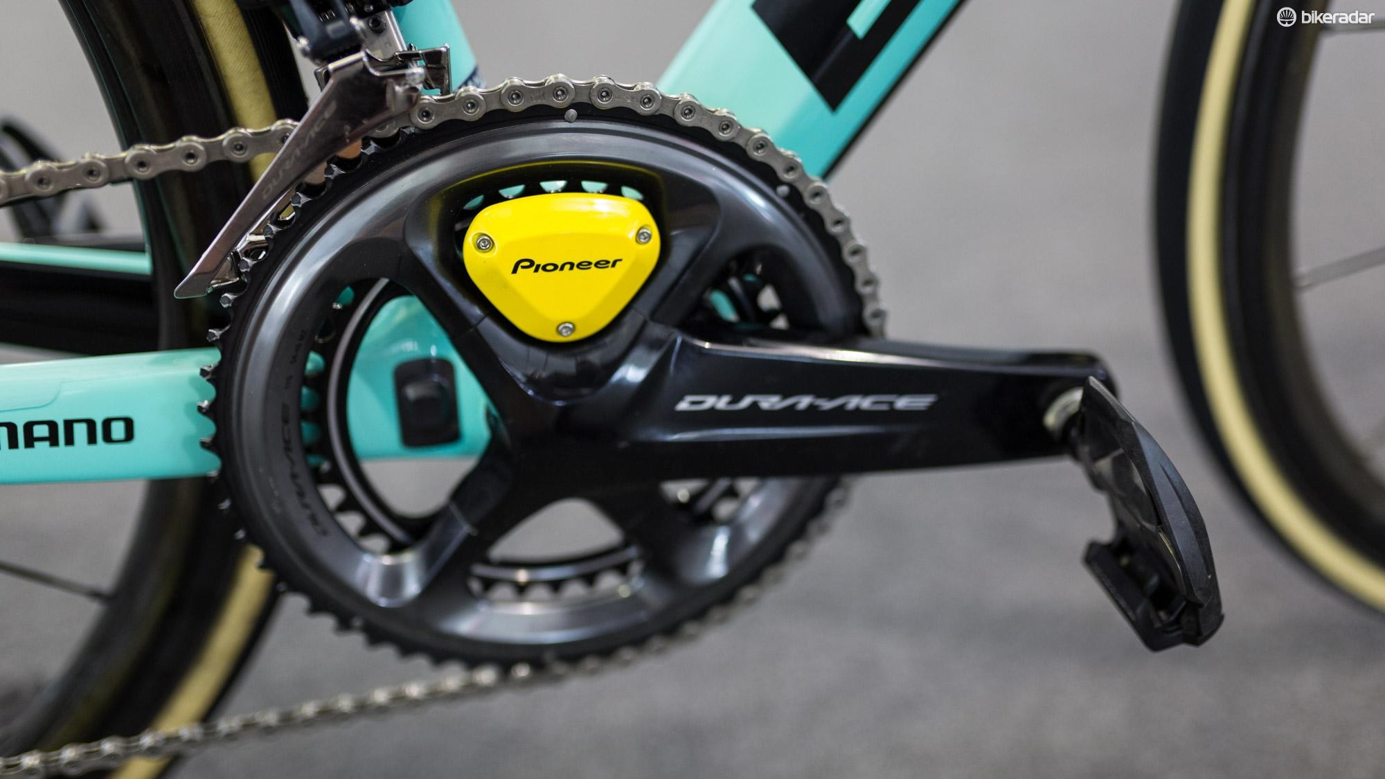 LottoNL-Jumbo use Pioneer power meters in conjunction with Shimano groupsets