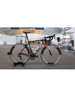 Team Sunweb's Giant TCR Advanced SL 0 with Shimano Dura-Ace R9150 and Giant SLR 0 Aero Carbon wheels